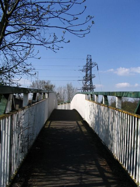 Footbridge Beechwood Ave, Coventry