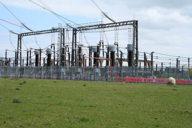 Bishop's Hull: Taunton electricity sub-station