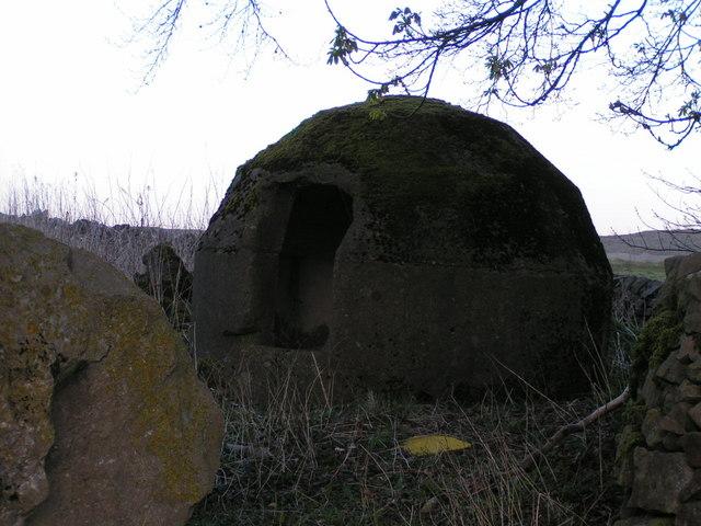 Blasting shelter, Tunstead Quarry