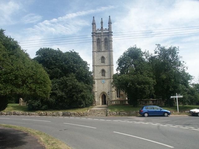 All Saints Church,  Churchill