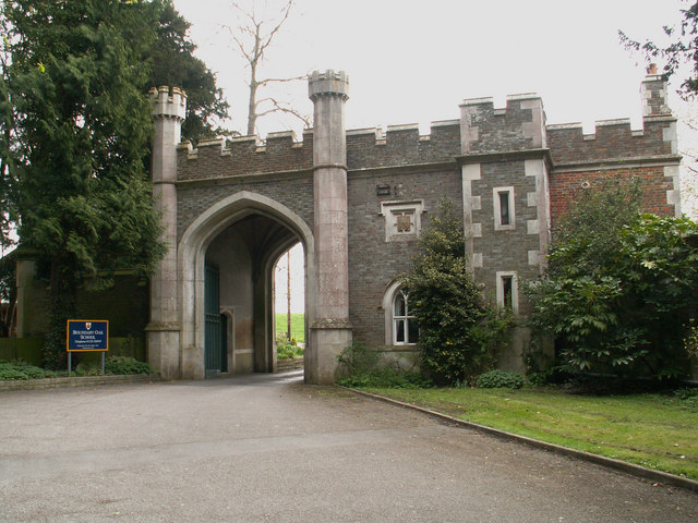 Gate House to Roche Court now Boundary Oak School