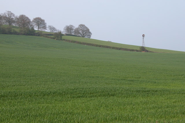 Windpump, Dinedor Hill