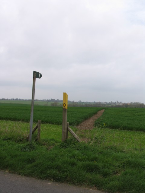 Footpath to Cadeby
