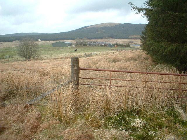 High Plewland with Dungavel Hill behind