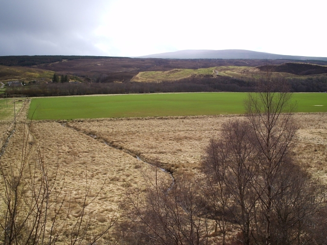 Looking South over towards Brae