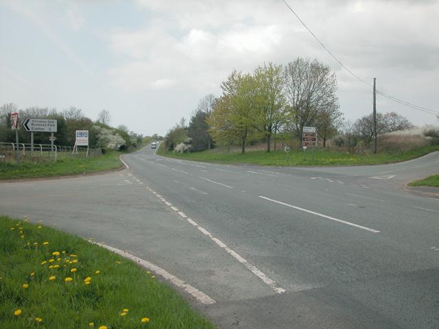 Chowley Oak crossroads