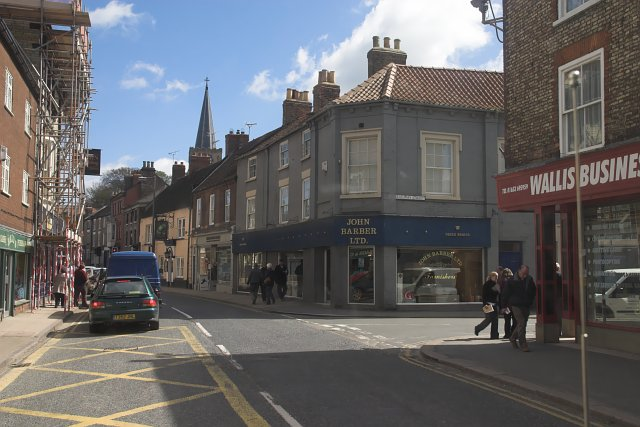 Busy street in Malton