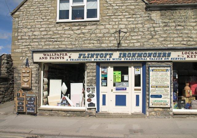 Ironmongers shop in Pickering