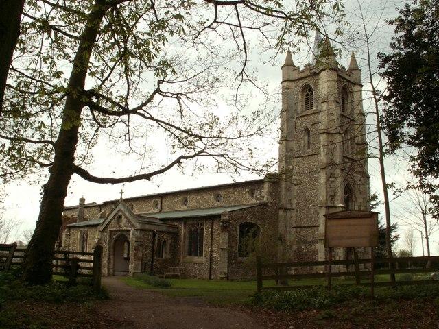 St. Mary the Virgin church, Little Sampford, Essex