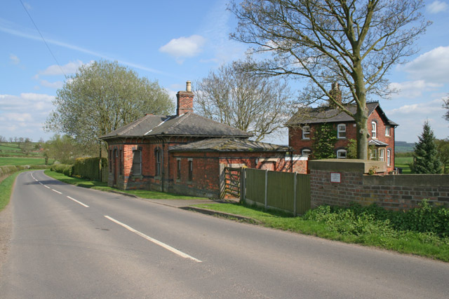 Upper Broughton Station and Station Master's House
