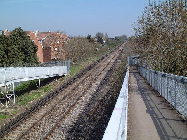 Towards Ashford Station