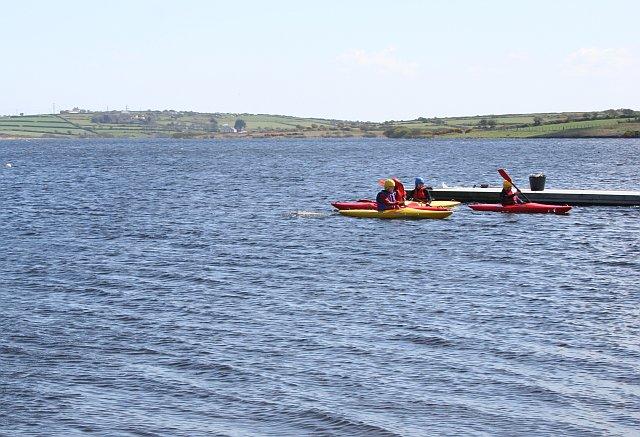 Canoeing on Stithians Lake