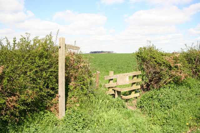 Footpath from Ranby