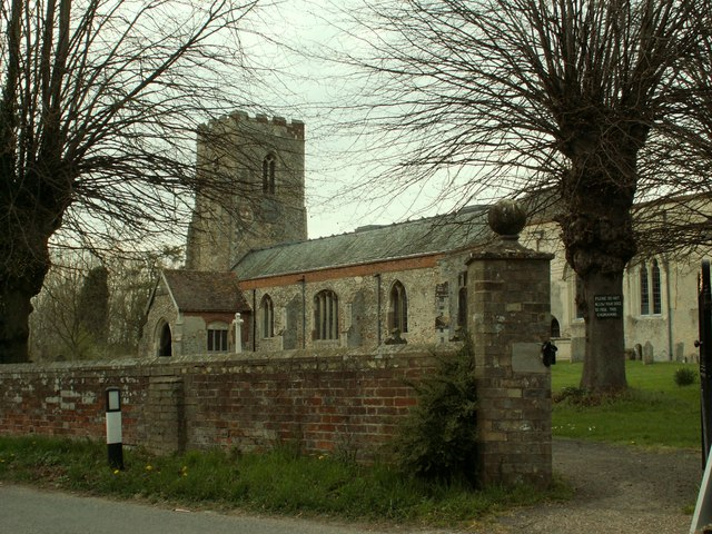 St. Peter and St. Paul's church, Kedington, Suffolk