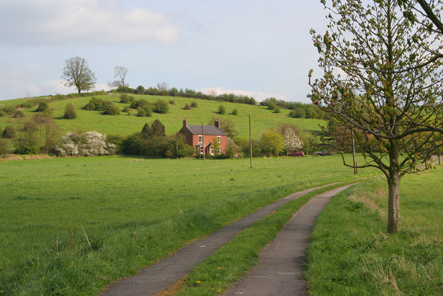 Hill Farm near Hickling Pastures