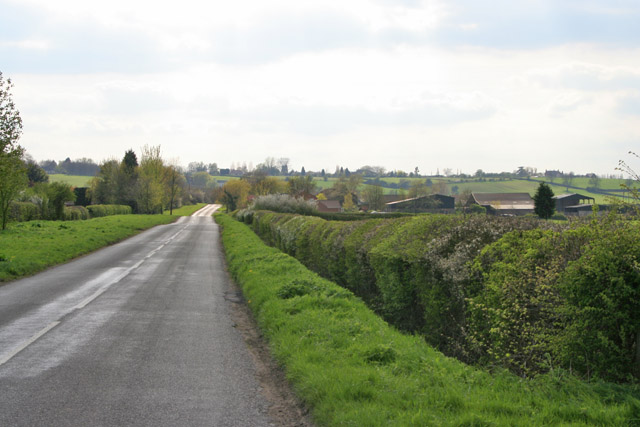 Bridegate Lane between Hickling and Hickling Pastures