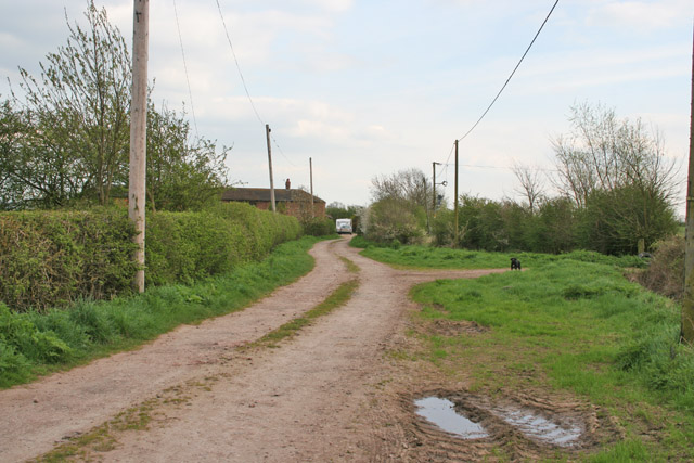 Farm Track to Lodge Farm, Kinoulton