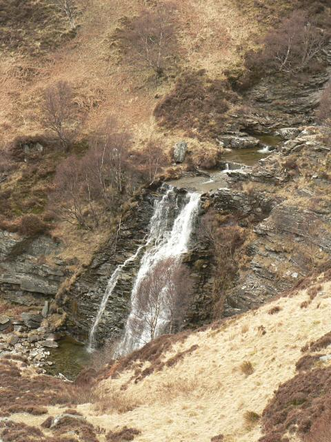 Waterfall on the Turrerich Burn