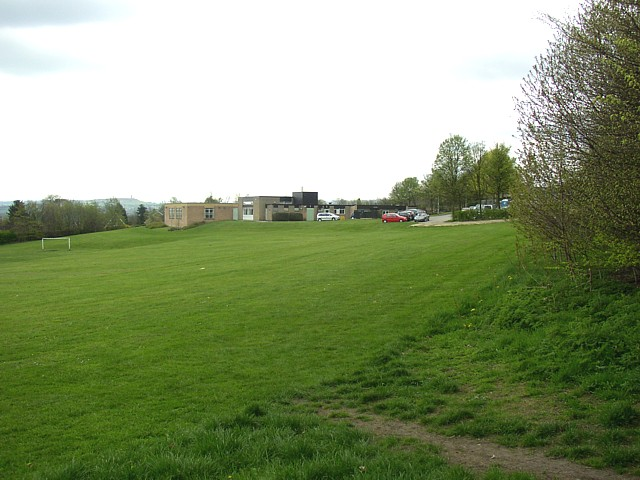 Fixby Junior and Infants School and playing field, Fartown