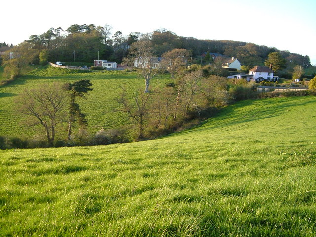 Vicarage Lane, Longdown from Perridge Cross