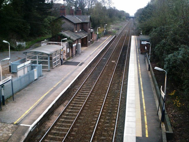 Cuddington Railway Station