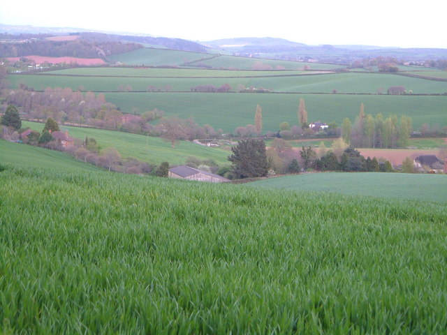 View over Marshall Farm