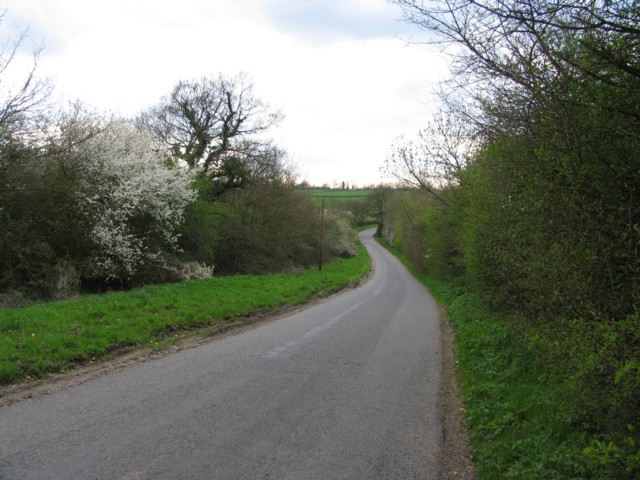 Country road to Braunston-in-Rutland