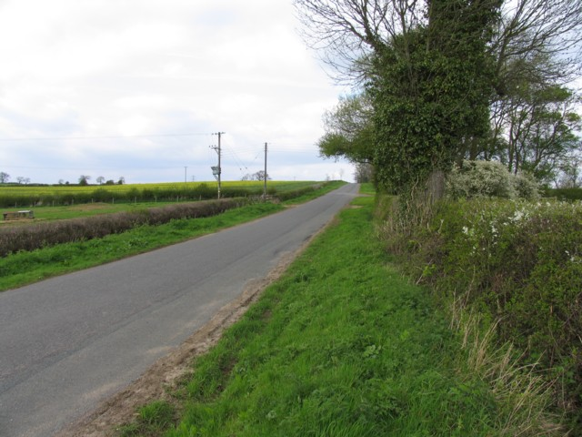 Brooke Road from Oakham