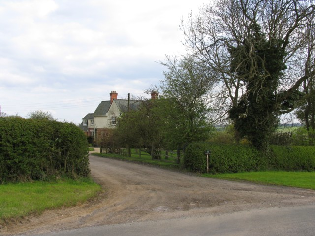 Priory Farm entrance