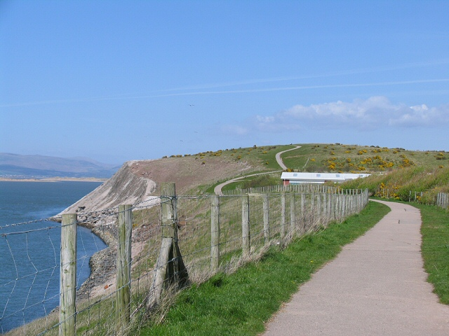 Coastal Path by Walney Channel