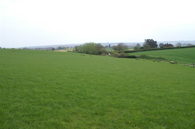 View to Crossmoor Farm