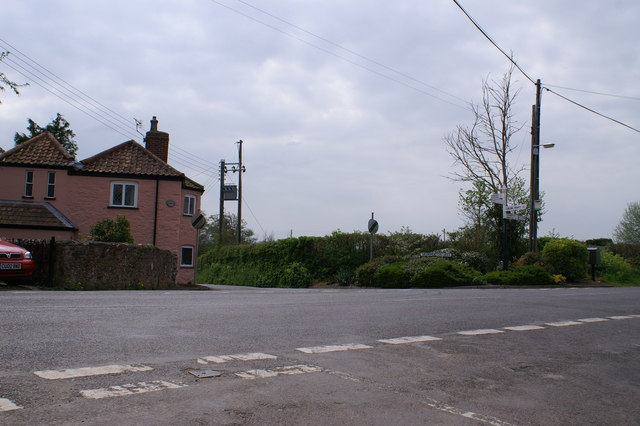 Junction at Skimmerton Lane