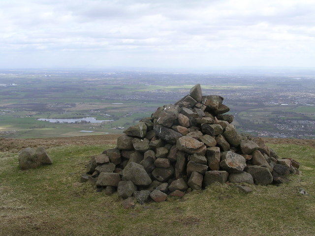 Prominent Cairn near Cort-ma Law