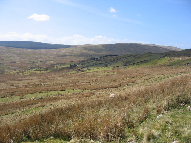 View towards Blaen-Lliw