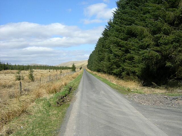Road Across Threip Moor