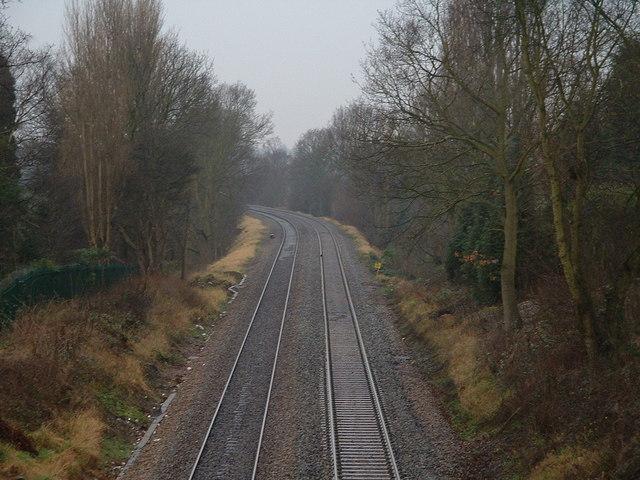 Hall Green to Yardley Wood Railway Line
