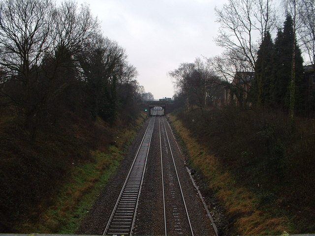 Yardley Wood to Hall Green Railway Line