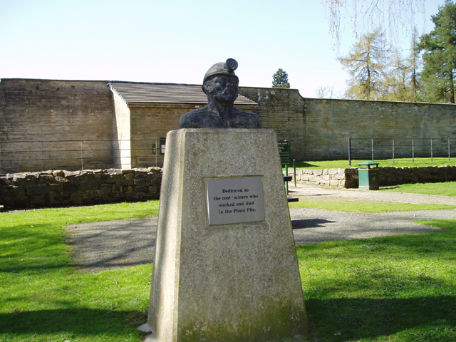 Mining memorial, Plean Country Park