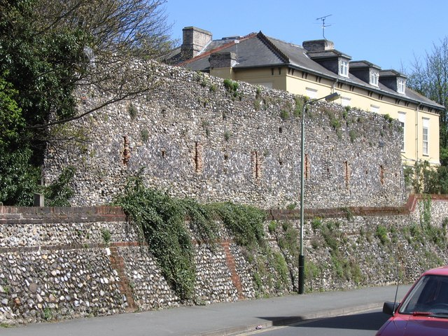 Norwich City Wall, Carrow Hill
