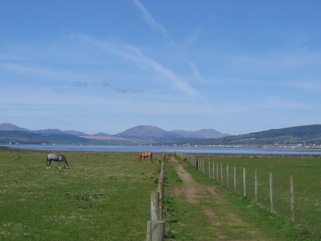 Nature trail at Ardmore Point, Dunbartonshire