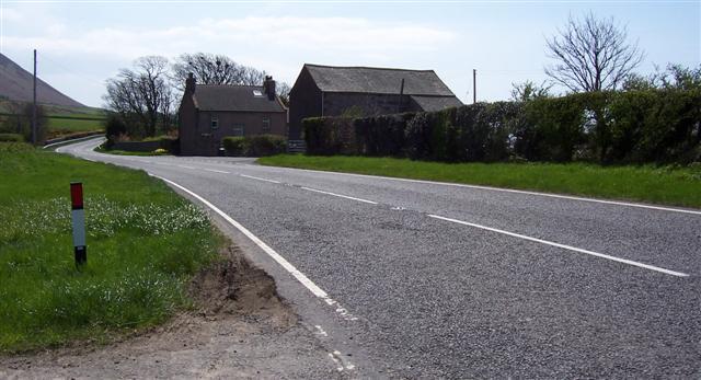 Holegill on the A595