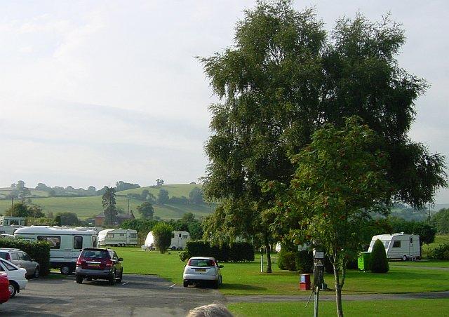Campsite at Abermule