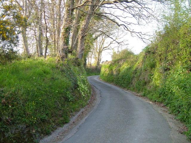 Church Lane, Whitestone