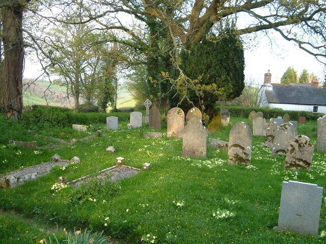 Churchyard, Whitestone