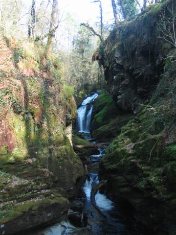 Afon Cynfal Waterfall