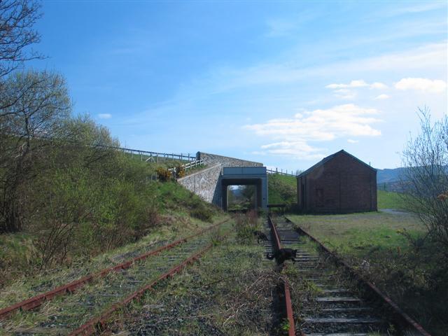 Railway Siding and Modern Bridge