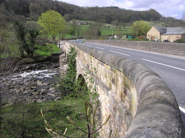 Lownethwaite Bridge : Reeth  Road