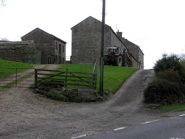 Downholme Farm : Reeth Road.