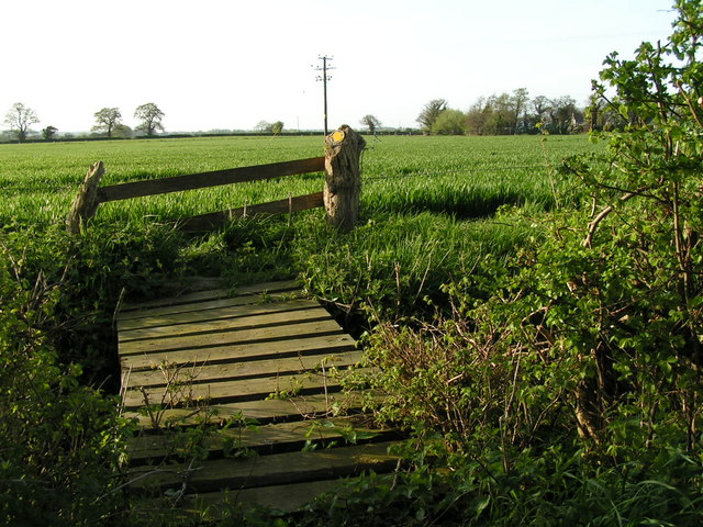 Footbridge near Golden Grove