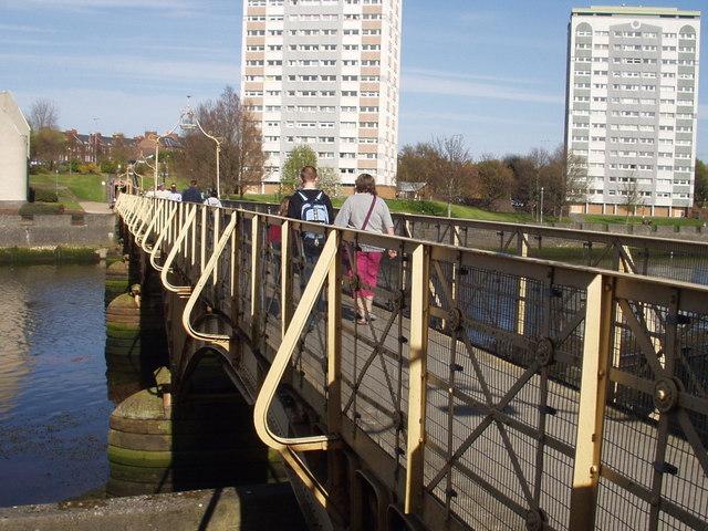 Footbridge, Ayr